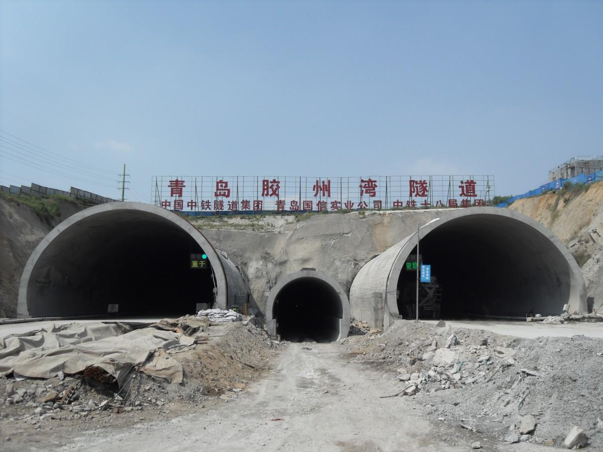 胶州湾隧道:中国海底隧道建设新样本