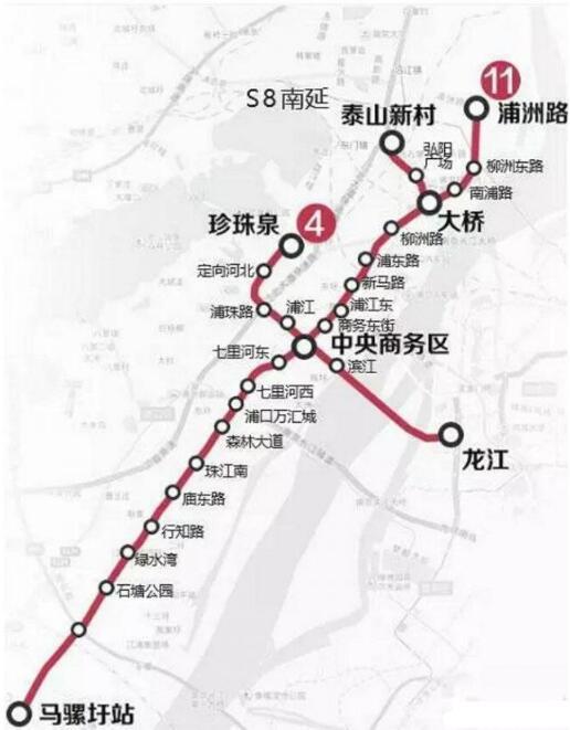 南京地铁11号线已开始全线勘察