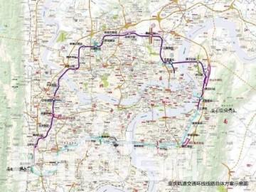 重庆2018年将开通2条新建3条轨道交通线