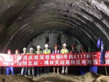 深圳地铁6号线一期、二期全线贯通