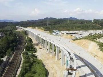 清远磁浮预计9月铺轨 10月启动站后工程施工
